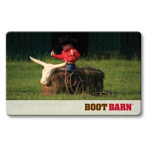 Boot Barn Gift Card - boot barn gift cards boot barn