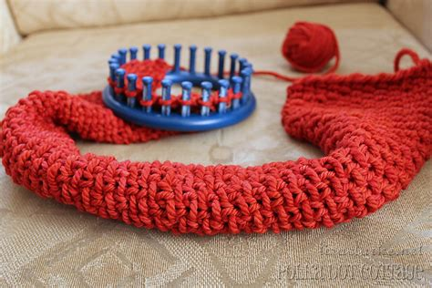 how to loom knit a scarf on loom image gallery loom knitting