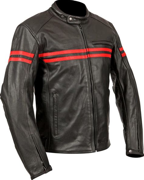red leather motorcycle classic look for the weise brunel leather motorcycle