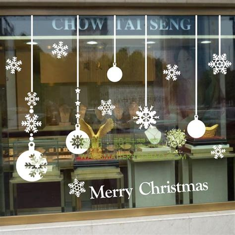 Window Decals Christmas by Best 25 Christmas Window Stickers Ideas On Pinterest