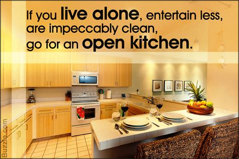 closed kitchen open or closed kitchen what s your preference let s discuss