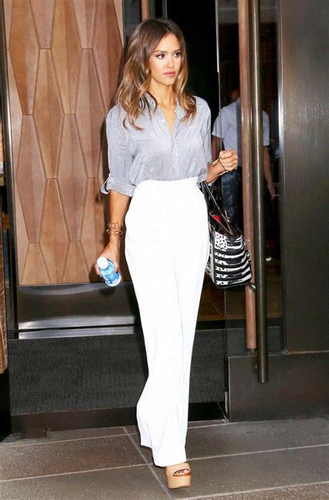 Dress Albi 2 Brown s艫 combini pantalonii albi look uri pentru sf 226 r陌it de