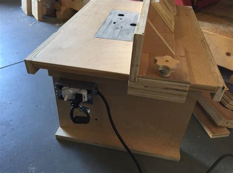 bench top router table  supercubber  lumberjockscom