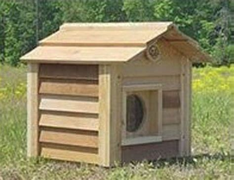 outdoor heated cat house heated outdoor cat house critters pinterest