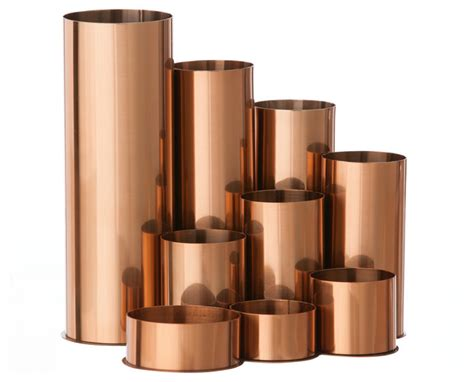 copper desk accessories copper pencil holder contemporary desk accessories by inmod