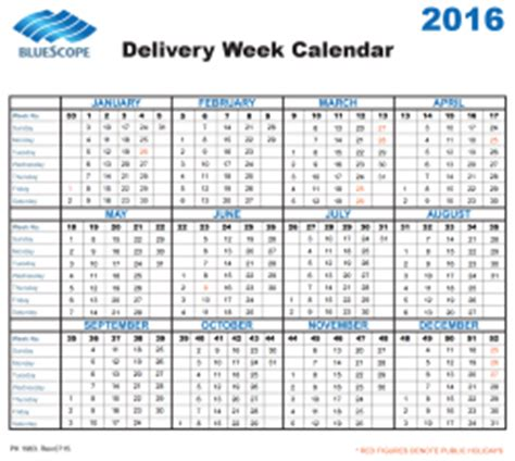 Calendar Calculator By Weeks Delivery Week Calendars