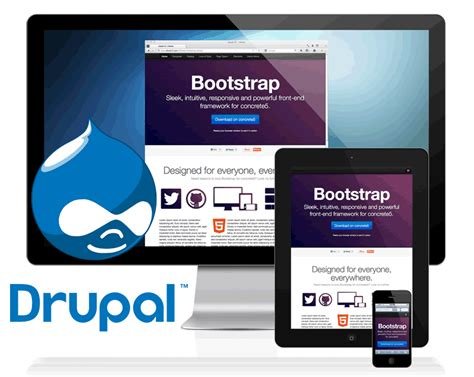 theme drupal social network 10 most popular bootstrap drupal themes social media and