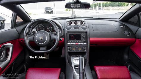 Lamborghini Gallardo?s Painful Interior Space: Test Drive
