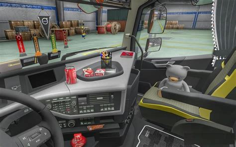 Truck Accessories Interior by Volvo Fh16 Accessories Interior V3 2 Ets2 Ets2 Mod
