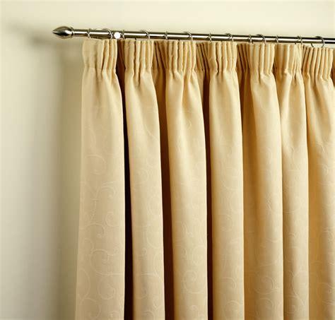 pencil pleat curtains on a pole bohemia interiors