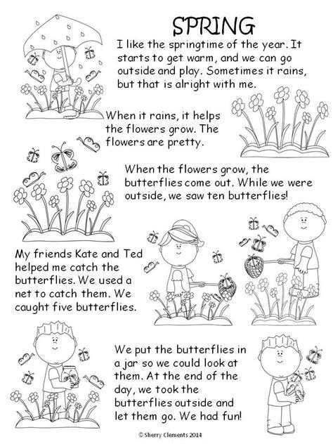 stories for kindergarten read and write comprehension kindergarten and shorts
