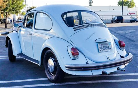 volkswagen bug light blue 1969 volkswagen beetle light blue daily driver