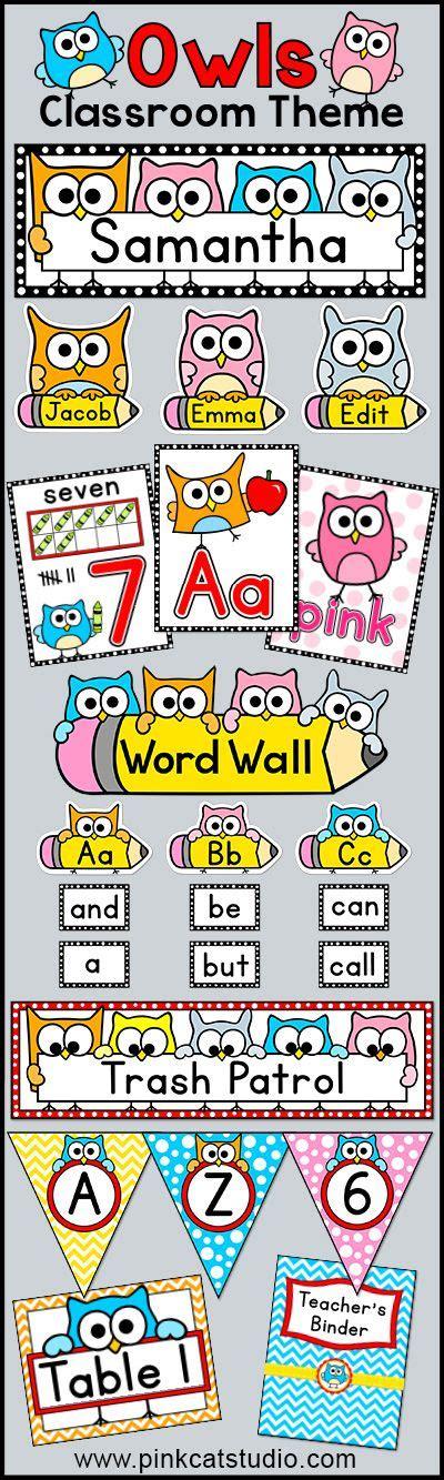 theme classroom names best 25 owl labels ideas on pinterest owl theme
