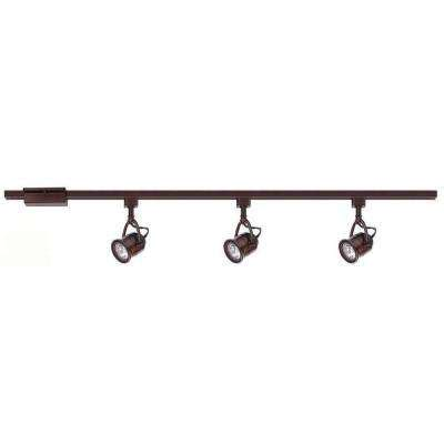 Ceiling Fans With Track Lighting Bronze Track Lighting Lighting Ceiling Fans The Home Depot