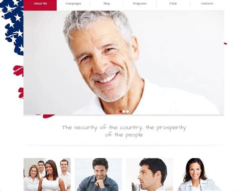 11 political candidate joomla templates themes