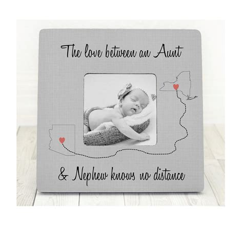 mothers day gift aunt nephew auntie gift personalized