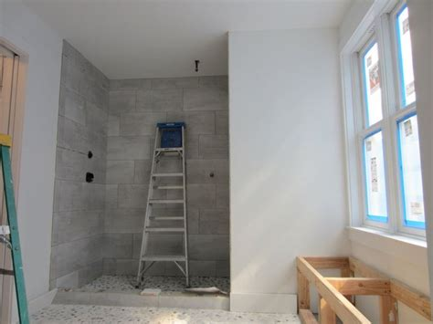 12x24 Shower Tile by 12x24 Staggered Horizontal Tile Shower Steiner Ranch