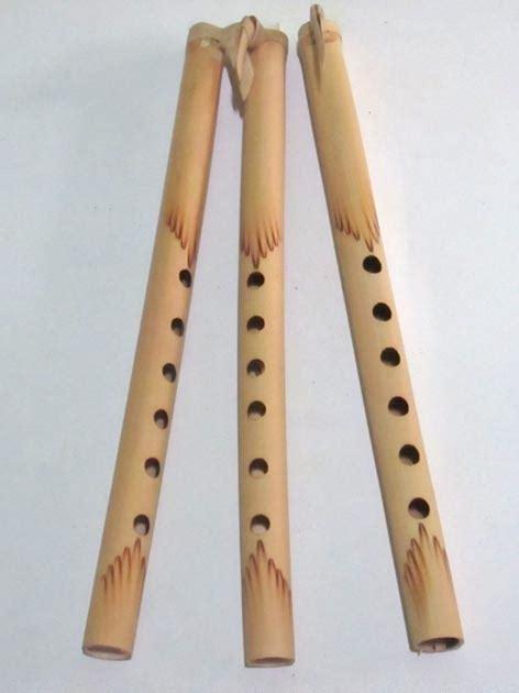 Souvenir Gantungan Kunci Suling Bambu seruling bambu karim craft souvenir