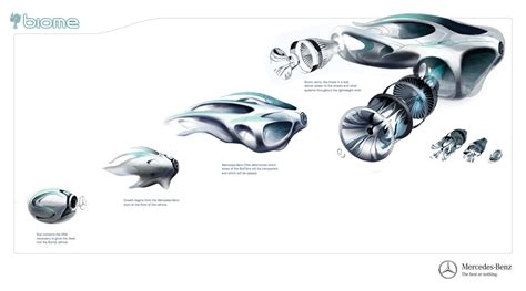 mercedes benz biome seed biome car grown in a lab imaginationed