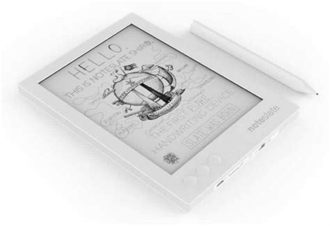 e paper writing tablet noteslate shiro epaper writing tablet now available to pre