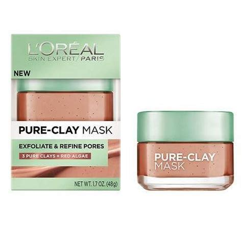 L Oreal Detox Clay Mask Review Makeupalley by L Oreal Clay Mask Exfoliate And Refine Pores