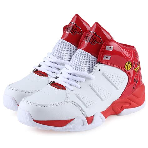 fashion mens sports casual high top basketball shoes