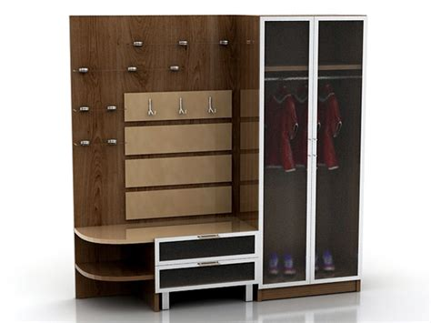 Model Wardrobe by Wardrobe 3d Model 3d Model 3ds Max Free