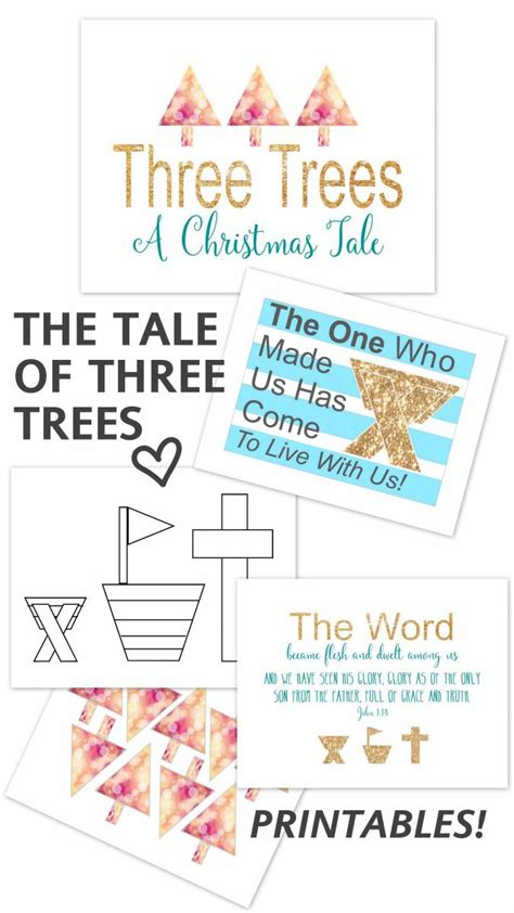 Sew Home Decor a tale of three trees