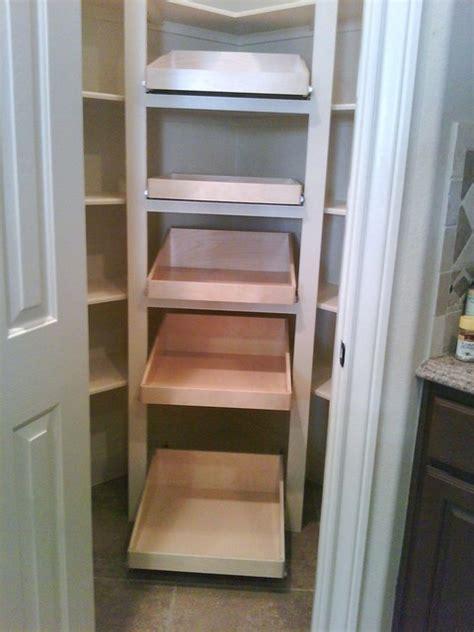 Shelfgenie Pantry by Shelfgenie Glide Out Shelves Traditional Kitchen