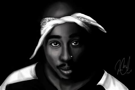 Tupac Shakur Also Search For Tupac Shakur Drawing By Rogermv On Deviantart