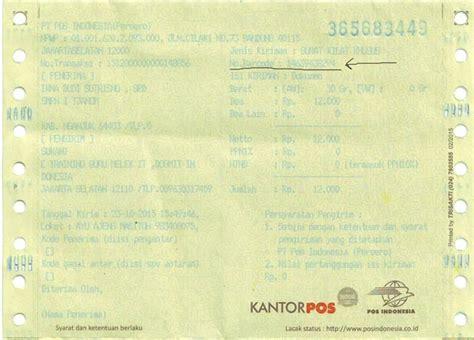 lacak kiriman pos indonesia cepat mudah  cekresicom