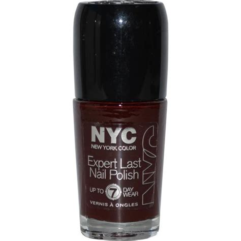 colors nyc nyc new york color expert last nail 9 7ml velvet rope