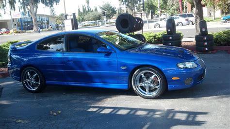 2005 Pontiac Gto Wheels by 2005 Pontiac Gto With 18x8 Milanni