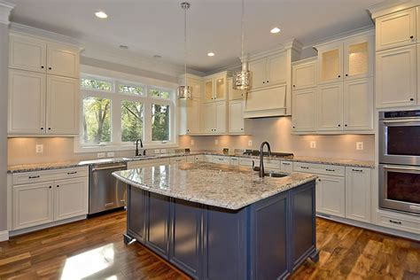 kitchens with different colored islands with your kitchen how to choose a different