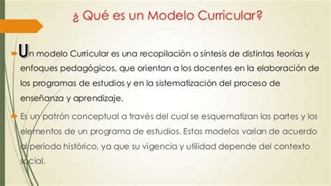Modelo Curricular Basado En Competencias Modelo Curricular Basado En Competencias
