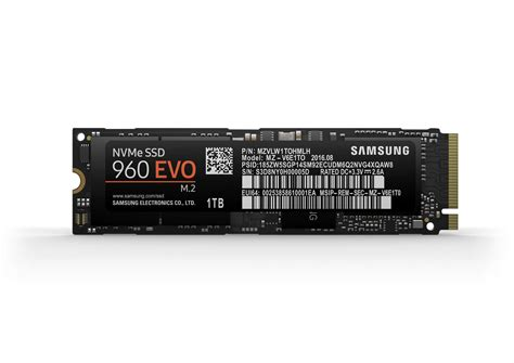 samsung 960 evo samsung announces 960 pro and 960 evo m 2 pcie ssds updated