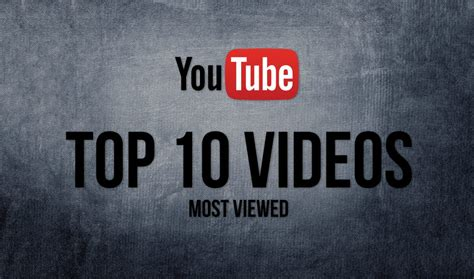 best yutub top 10 most viewed videos on youtube 2017 ultimate