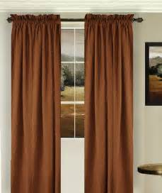 Copper Colored Curtains Solid Copper Brown Colored Shower Curtain