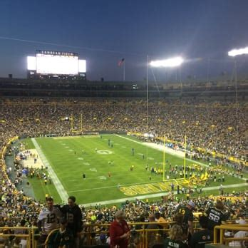green bay section 8 lambeau field 480 photos 218 reviews stadiums