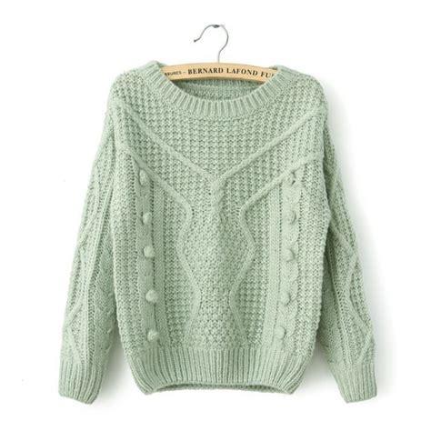 Jaket Sweater Flower Sweater Casual casual knit sweater wool hook flower 361 on