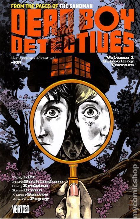Dead Boy Detectives Volume 1 Schoolboy Terrors Tp dead boy detectives tpb 2014 dc vertigo comic books