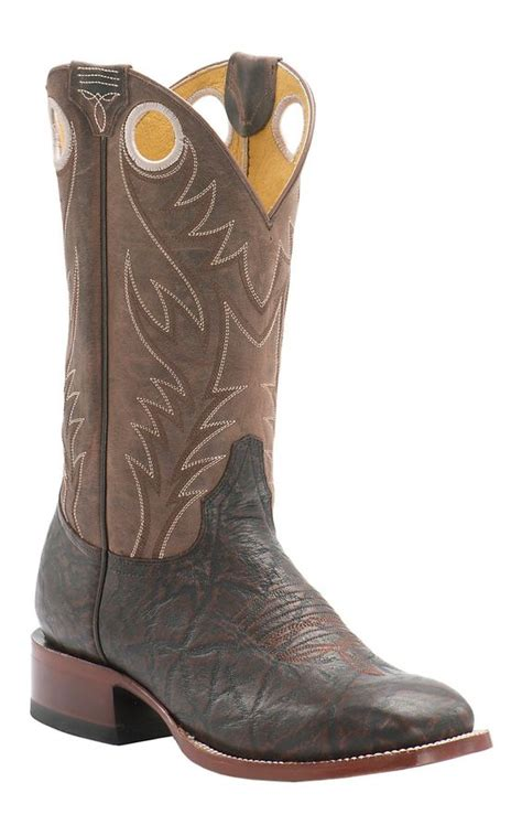 cavenders mens boots cavender s by gringo s chocolate elephant print