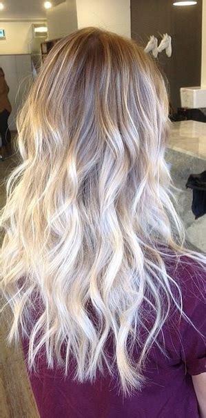 platinum blonde ombre hair platinum blonde ombre mane interest
