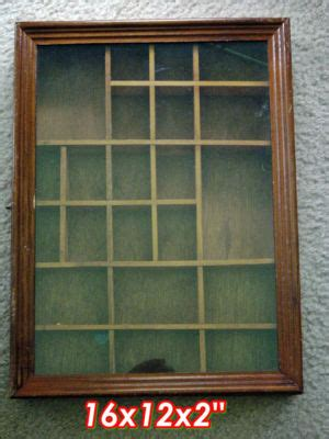 Shadow Box With Shelves And Glass Door Vintage Wooden Shadow Box W Shelves Glass Door Ffortunate