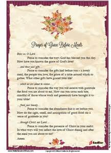 prayer grace o malley and meals on