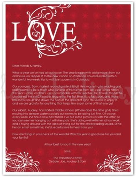 printable christmas love letter template