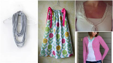 no sew hacks to upcycle your clothing