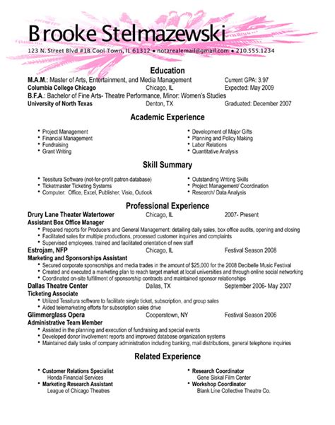 what good resumes look like