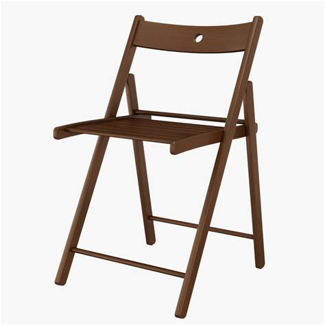foldable wooden chairs singapore 3d model ikea terje foldable chair wood