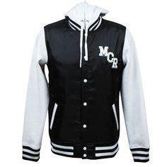 Varsity Wanna One Jaket Wanna One asking alexandria eagle black white college jacket i want this